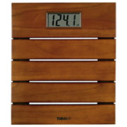 Thinner® Solid Teak Digital Scale