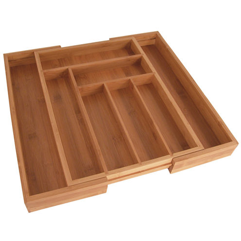 Totally Bamboo® Expandable Drawer Organizer