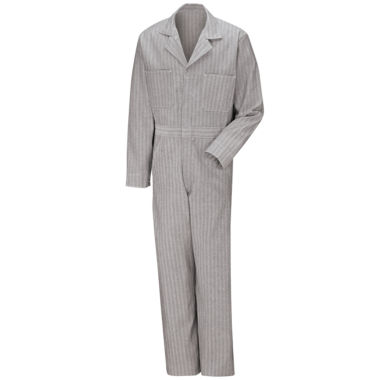 jcpenney.com | Red Kap Button-Front Cotton Herringbone Coverall