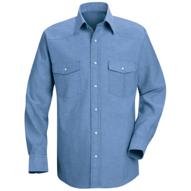 jcpenney.com | Red Kap® Deluxe Western-Style Shirt–Big & Tall