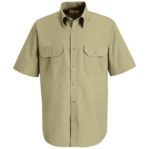 Red Kap® SP60 Dress Uniform Shirt–Big & Tall