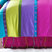 Seventeen® Beaded Twin Bedskirt