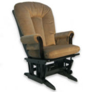 Dutailier® Sleigh Glider - Medium Brown