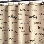Park B. Smith Resort Shower Curtain