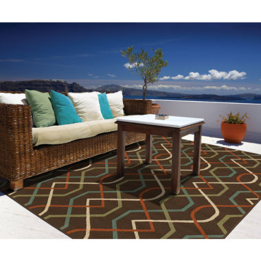 jcpenney.com | Covington Home Montego Swizzle Indoor/Outdoor Rectangular Rug