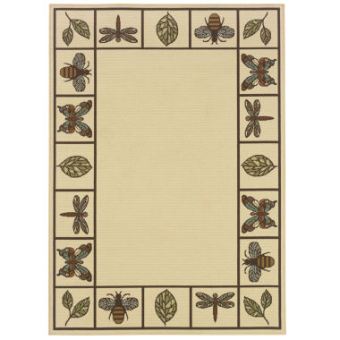 jcpenney.com | Covington Home Montego Summer Buzz Indoor/Outdoor Square Rugs
