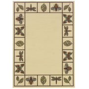 Montego Summer Buzz Indoor/Outdoor Square Rugs