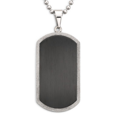 jcpenney.com | Men's Dog Tag Stainless Steel
