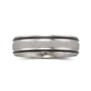jcpenney.com | Mens 7mm Band Stainless Steel