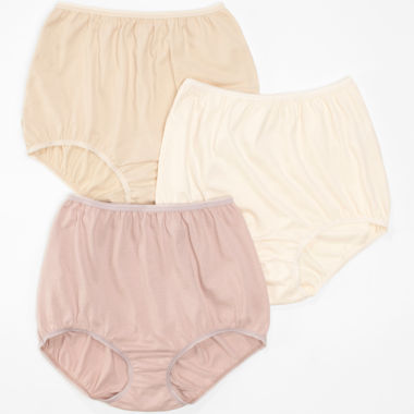 jcpenney.com | Underscore® Cotton Briefs, Tailored Panties 3 Pack