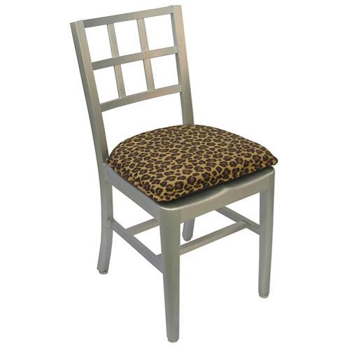 Klear Vu Leopard DelightFill 2-Pack Chair Cushions