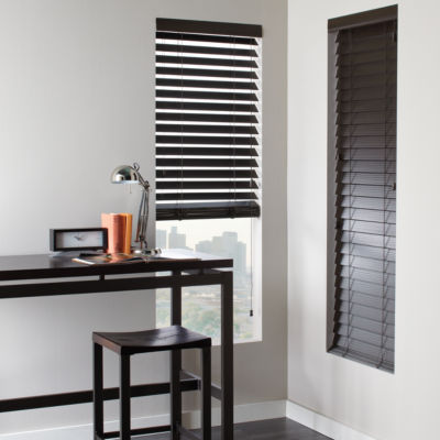jcp home 2 Fauxwood Horizontal Blinds