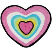 Hearts Bath Rug