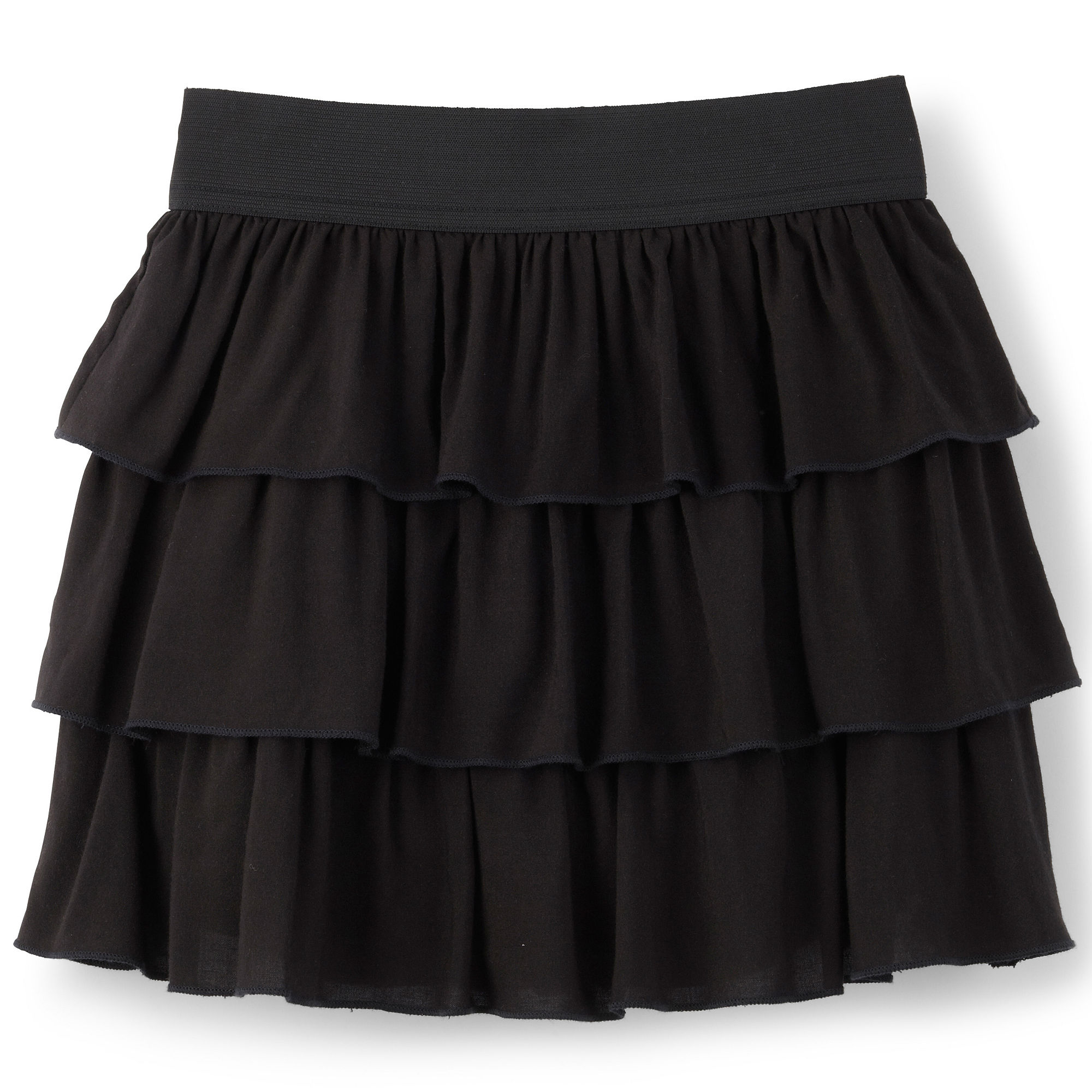by & by Girl Tiered Skirt - Girls 7-16 and Plus plus size,  plus size fashion plus size appare