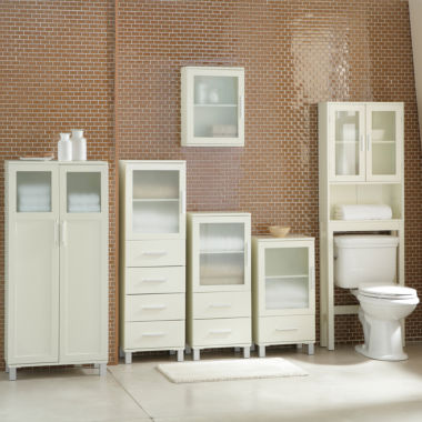 jcpenney.com | Frosted Pane Bath Furniture Collection