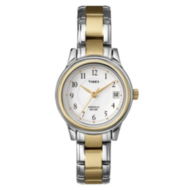jcpenney.com | Timex® Easy Reader Womens Two-Tone Watch