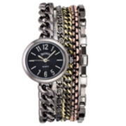 Decree® Multi-Chain Bracelet Watch