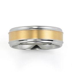 BEST VALUE! Men's 8mm Wedding Band Stainless Steel