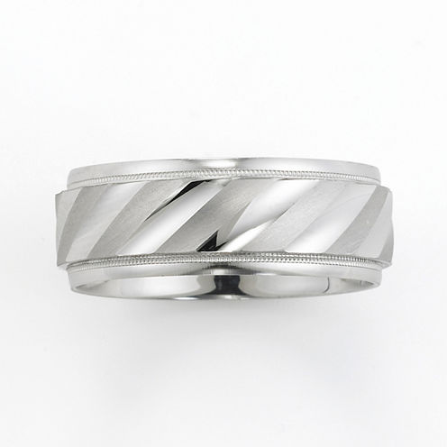 Silver Band, 8mm Wedding Band