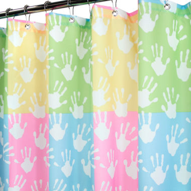jcpenney.com | Park B. Smith® World Hands Shower Curtain