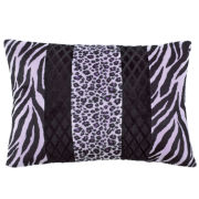 Seventeen® Zebra Darling Oblong Decorative Pillow