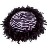 Seventeen® Zebra Darling Round Decorative Pillow