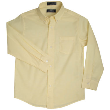 jcpenney.com | French Toast® Long-Sleeve Oxford Shirt - Boys 4-7