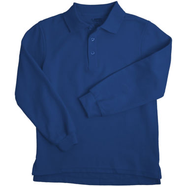 jcpenney.com | French Toast® Long-Sleeve Polo Shirt - Boys 8-20 and Husky