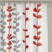 Chloe PEVA Shower Curtain