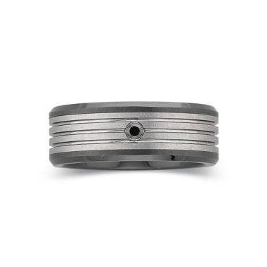 jcpenney.com |  Men's Diamond-Accent Band Tungsten