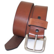 John Deere™ Oil Tan Strap Belt