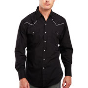 Ely Cattleman® Pipe-Yoke Snap Shirt - Big & Tall