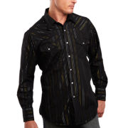 Ely Cattleman® Lurex Snap Shirt