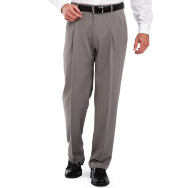 jcpenney.com | Haggar® Classic-Fit Pleated Dress Pants