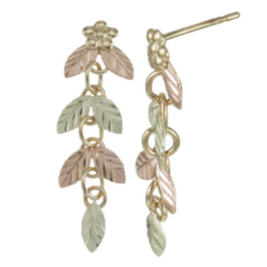 jcpenney.com | Black Hills Gold Jewelry by Coleman® Linear Earrings