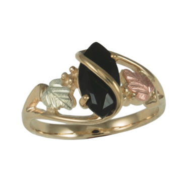 jcpenney.com | Black Hills Gold Jewelry by Coleman® Onyx Ring