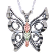 Black Hills Gold® Butterfly Pendant Necklace