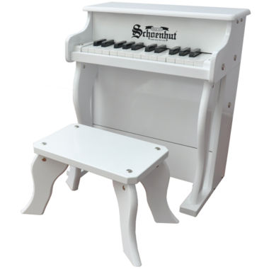 jcpenney.com | Schoenhut® White Elite 25-Key Spinet Toy Piano