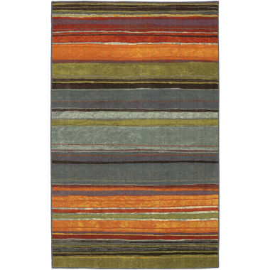 jcpenney.com | Mohawk Home® Rainbow Stripe Washable Runner Rug