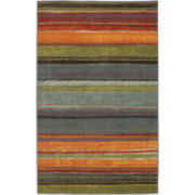 Mohawk Home® Rainbow Stripe Washable Runner Rug