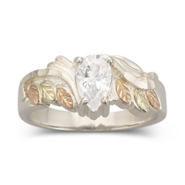 jcpenney.com | Black Hills Gold Jewelry by Coleman® Marquise Cubic Zirconia Ring