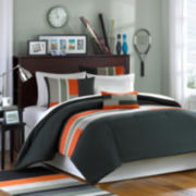 MiZone Circuit Olive Green Comforter Set