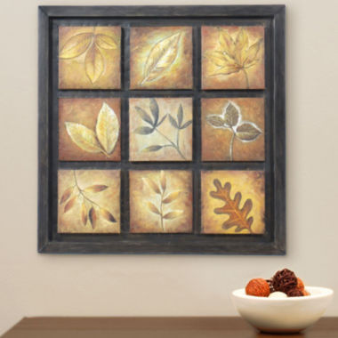 jcpenney.com | 9-Panel Leaf Wall Art