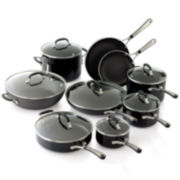 Simply Calphalon® 14-pc. Enamel Cookware Set + BONUS