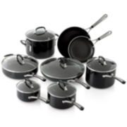 Simply Calphalon® 14-pc. Enamel Cookware Set