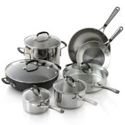 Simply Calphalon® 10-pc. Stainless Steel Cookware Set + BONUS
