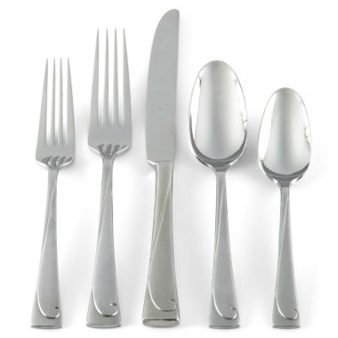 jcpenney.com | Oneida® 20-pc. Script Flatware Set