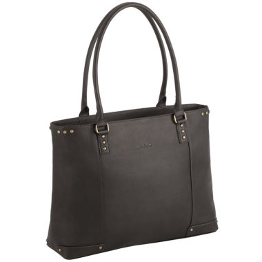 "jcpenney.com | SOLO 16"" Leather Laptop Tote"