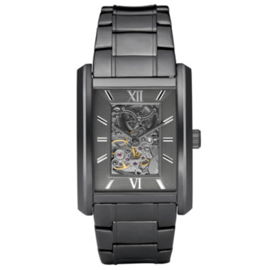 jcpenney.com | Relic® Mens Gunmetal Automatic Skeleton Watch ZR77206
