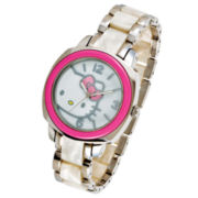Hello Kitty® Pink & White Watch